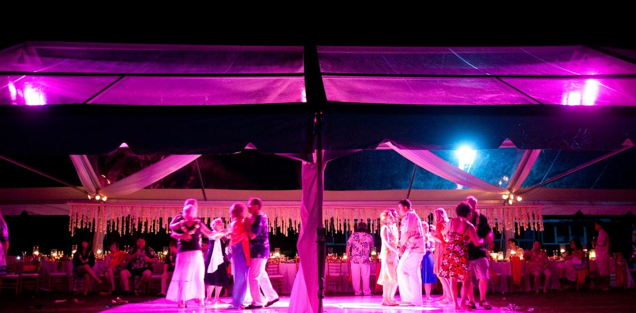 Hawaii DJ Troy Michael Wedding